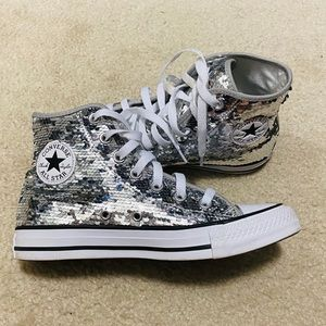 Converse Chuck Taylor All Star Sequin High Tops